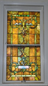 Stained glass window, Stone's Chapel